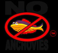 No Anchovies™ Logo™